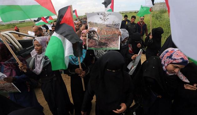Bugün, Filistin'de 'Toprak Günü'...