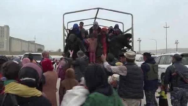 Musul'dan göç başladı
