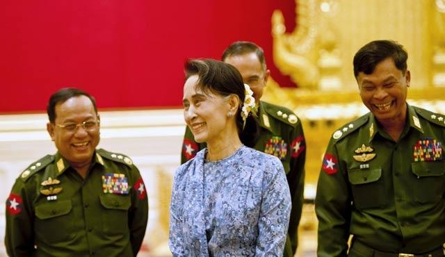 Myanmar'da Suu Çii'ye bir görev daha verildi