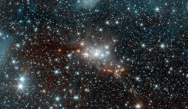 Oksijen bulunan yıldız keşfedildi