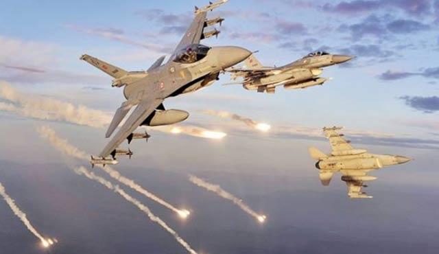 Kuzey Irak'taki PKK hedefleri yine vuruldu