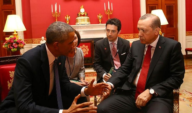 Obama, Erdoğan'ı basın için eleştirmiş...