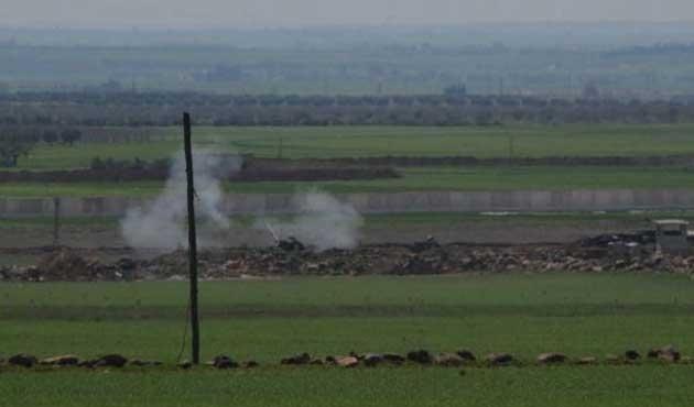 IŞİD hedefleri obüslerle vuruluyor