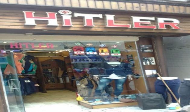 Kahire'deki 'Hitler' dükkanı İsrail'i kızdırdı