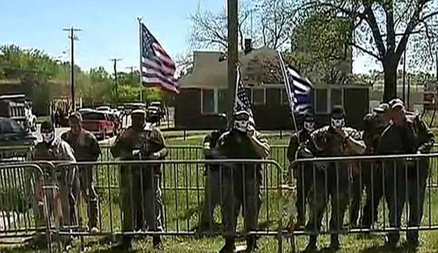 Dallas'ta İslam karşıtı silahlı grup amacına ulaşamadı