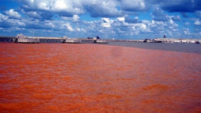 Denizi kirleten gemiye 107 bin lira ceza
