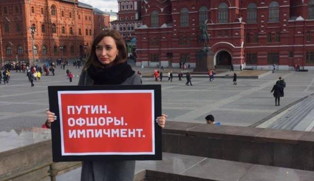 Moskovalı muhalifler birer birer meydana iniyor!