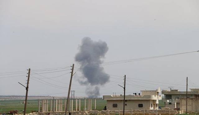 Suriye'de bir savaş uçağı düşürüldü