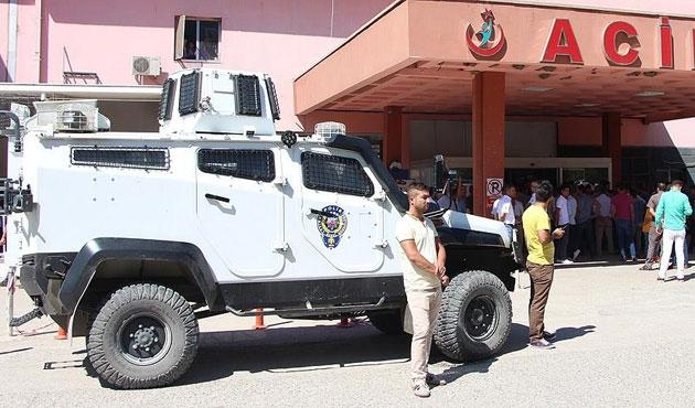 Silopi'de polis aracına roketatarlı saldırı