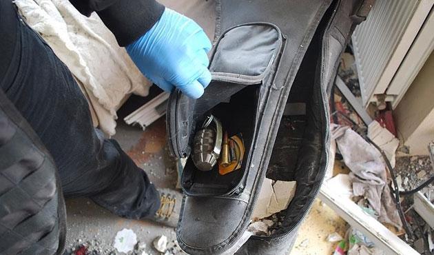 Yüksekova'da gitar çantasında bomba