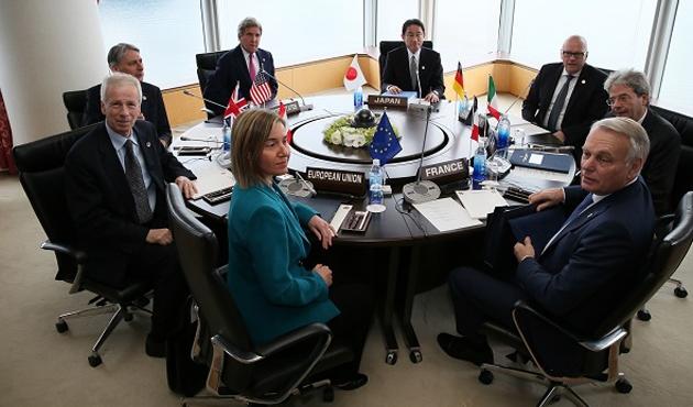 G-7 dışişleri düzeyinde toplandı