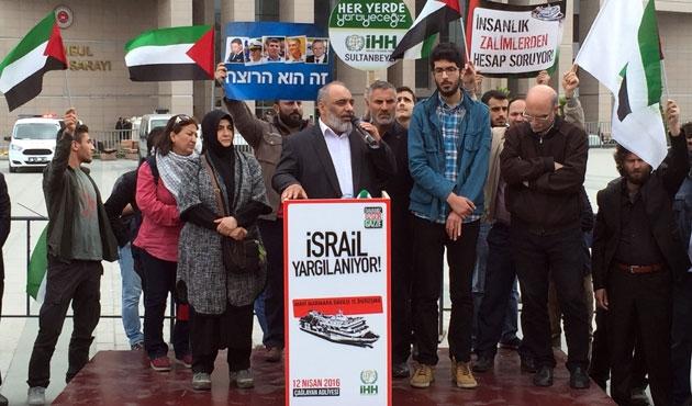 Mavi Marmara Davası öncesi İsrail'e protesto