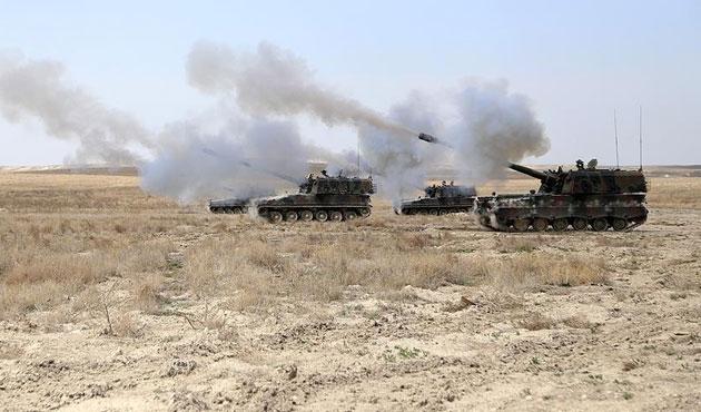 TSK Suriye'deki IŞİD hedeflerini vuruyor