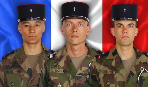Mali'de üç Fransız askeri öldürüldü