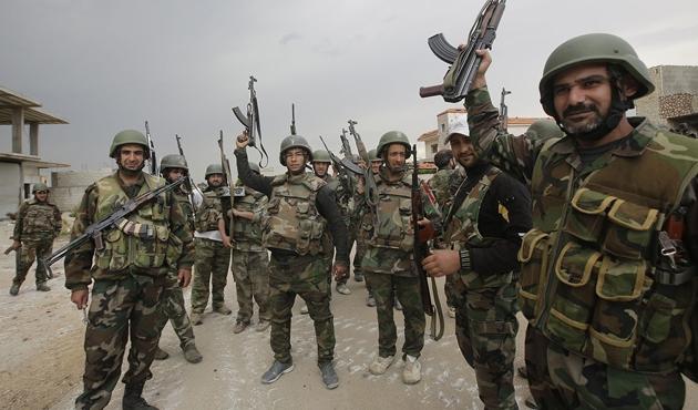 Esad ordusu Dareyya'ya saldırdı