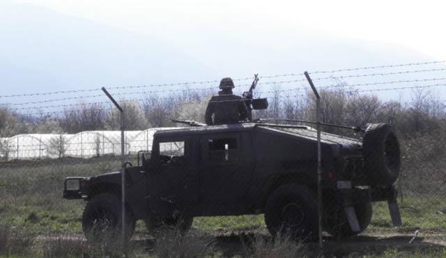 Bulgaristan sınırına 300 asker konuşlandı