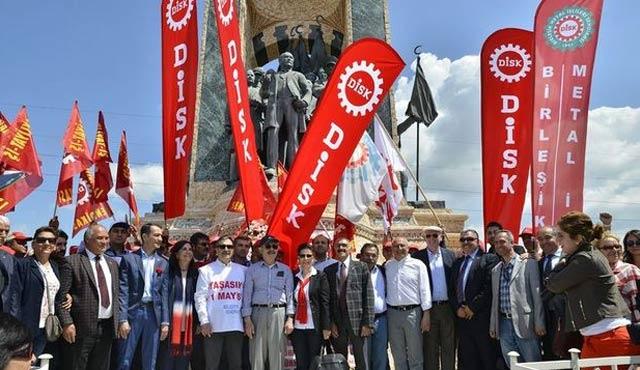 DİSK, KESK, TMMOB ve TTB 'Taksim' dedi...