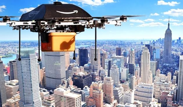 Hayatımız havadan 'Drone'lanacak!