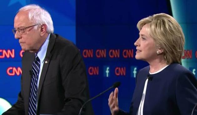 Sanders ve Clinton'dan İsrail'e hem destek hem eleştiri..