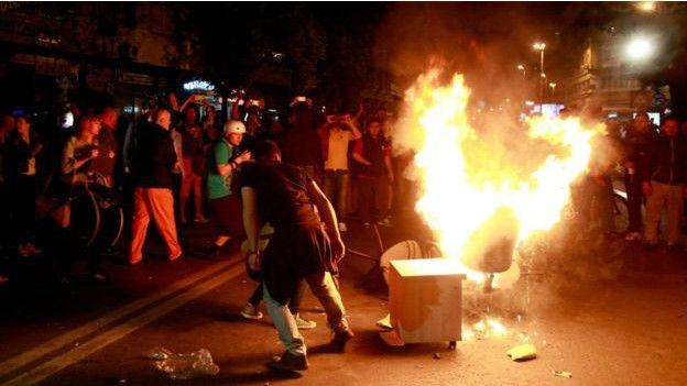 Makedonya'da 'telekulak' gösterileri yayılıyor