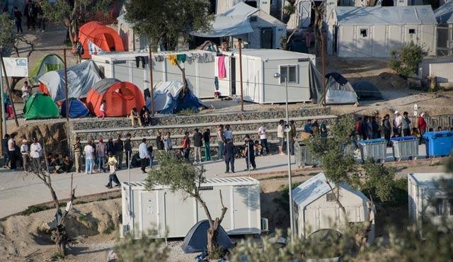 Musul'da cephe gerisinde çadır kamp kuruluyor