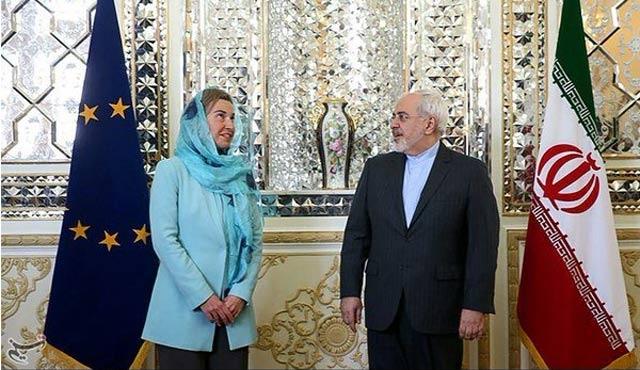 Mogherini Tahran'a gitti