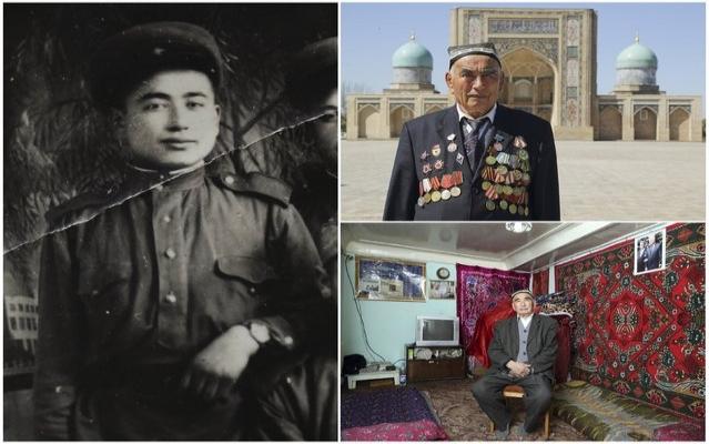 Özbekistan'da gazilere 70 yıl sonra ödül