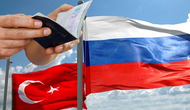 Rusya'dan Türklere vize engeli