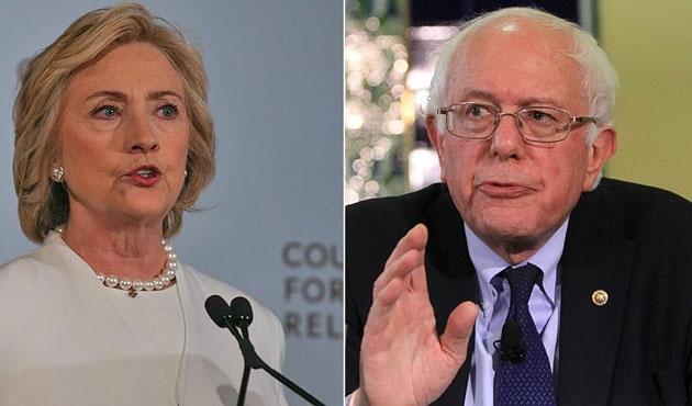 Clinton ve Sanders birer eyalette önseçimi kazandı