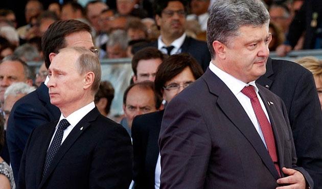 Putin ile Poroşenko telefonda görüştü