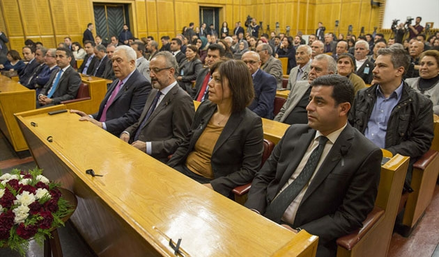 HDP'den 'ortak savunma belgesi'