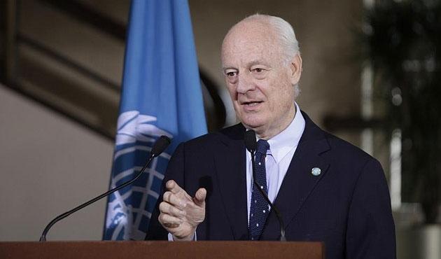 De Mistura: El Nusra için Halep'e gidebilirim