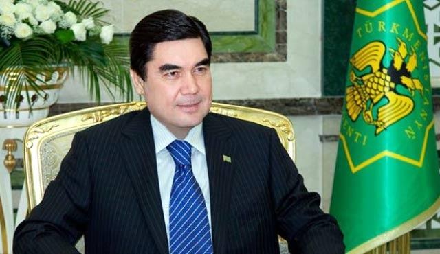 Türkmenistan lideri Rusya'da