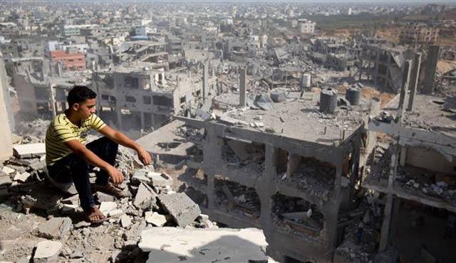 Almanya'dan Gazze'nin yeniden imarı için yardım
