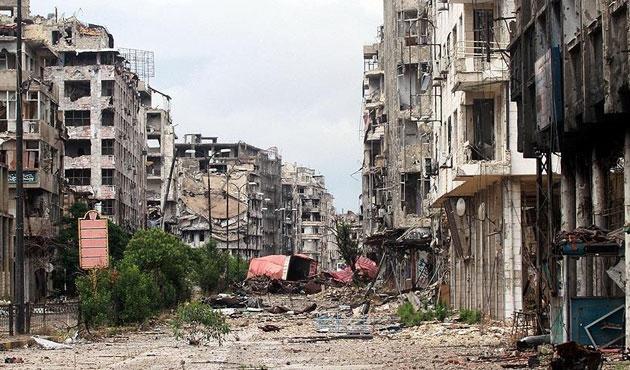 Bir füze saldırısı da Halep'te