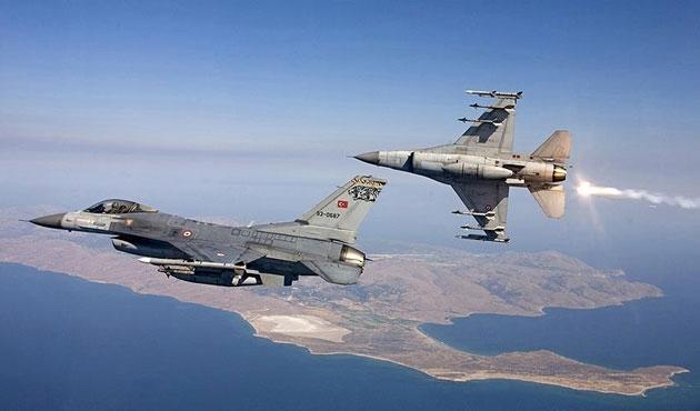 Kuzey Irak'ta PKK'ya hava saldırısı