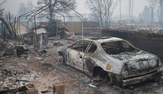 Kanada yangınında tahliyeler devam ediyor