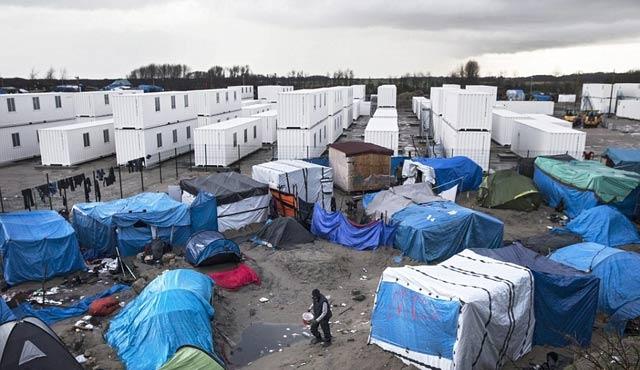 Fransa'nın utancı Jungle sığınmacı kampı