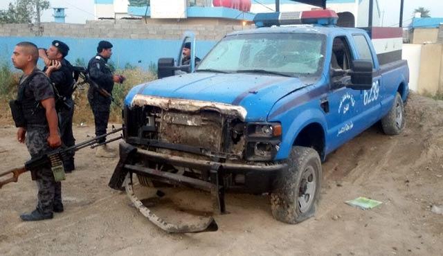 Bağdat'ta karakola bombalı saldırı