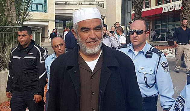 Raid Salah, hücre hapsinde tutuluyor