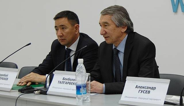 Bişkek'te Halk Meclisi lideri gözaltında