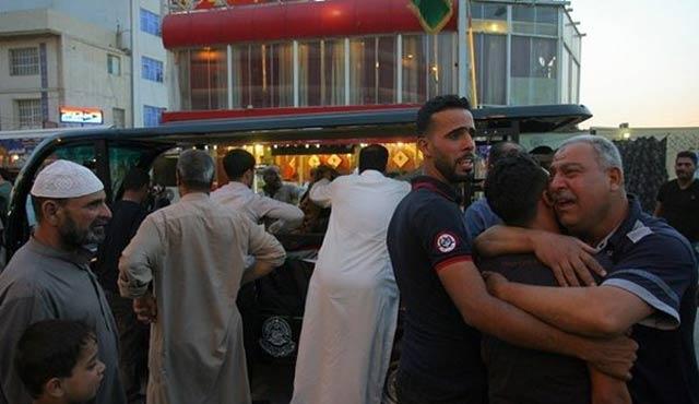 Irak'ta kafeye saldırı: 12 ölü