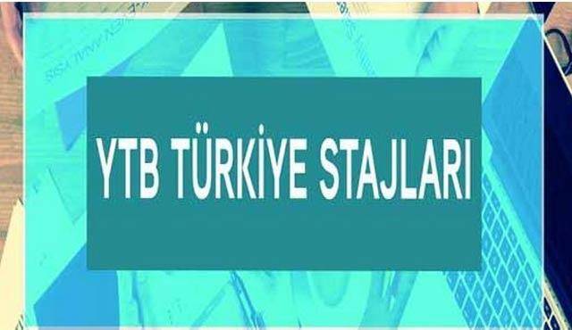 Türkiye'de staj başvurusunda yarın son gün