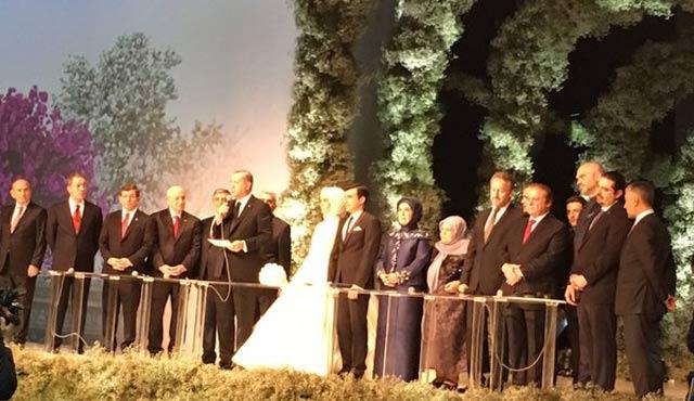 Erdoğan'ın kızı Sümeyye Erdoğan evlendi