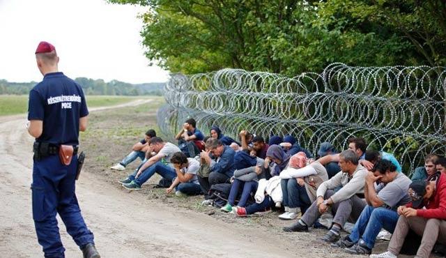Macaristan'a göç devam ediyor