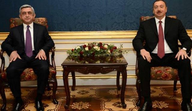 Aliyev ve Sarkisyan Viyana'da bir araya geldi