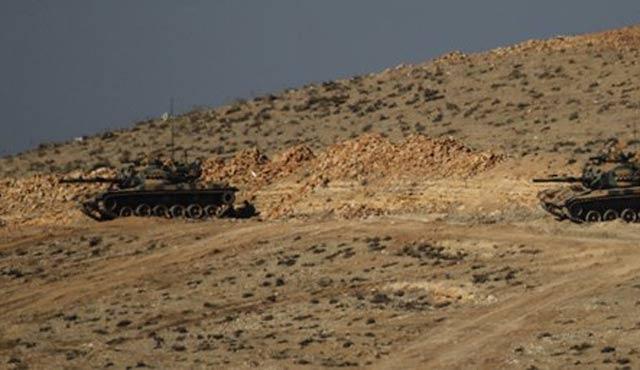 Kilis'te tank patladı