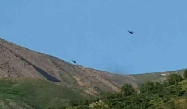 Hakkari'deki helikopteri PKK düşürmüş