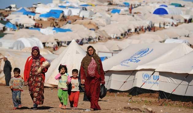 Suriye'ye havadan insani yardım