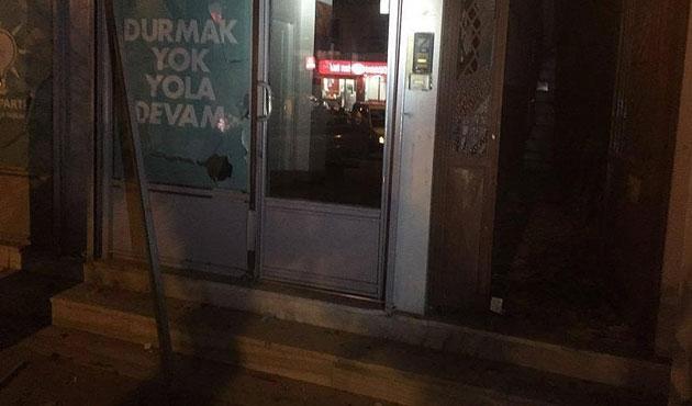 AK Parti temsilciliğine ses bombalı saldırı